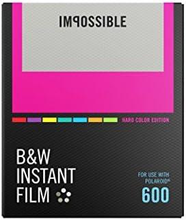 Impossible 4523schwarzweiß película instantánea para cámaras Polaroid 6008fotografías Hard con color de marco