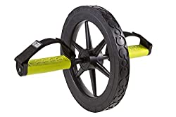 GoFit Extreme Ab Wheel with Foot/Hand Grips and Training Manual