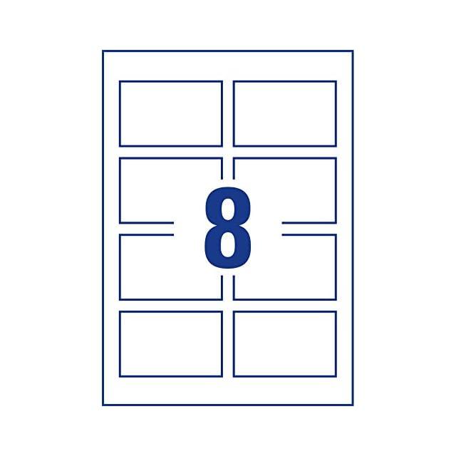 Avery Zweckform 10 Feuilles Pour Cartes De Visite C32015 Spcialement Conues Les Imprimantes