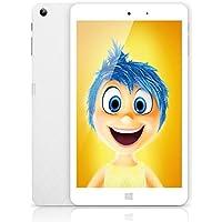 Chuwi Hi8 Pro Tablet per bambi PC schermo da 8 pollici Ram 2 G8 + ROM 32 GB HD Risoluzione 1920 * 1200 Windows10 Android 5.1 Quad Core 1.44 GHz Wi-Fi Type-C Dual fotocamera 2.0 MP colore: bianco