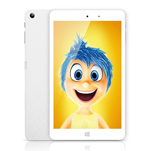 CHUWI Hi8 Pro Tablet PC Pantalla de 8 Pulgadas RAM 2GB+ ROM 32GB HD Resolución 1920*1200 Windows10 Android 5.1 Quad Core 1.44GHz WIFI Type-C Dual Cámara 2.0MP Color Blanco