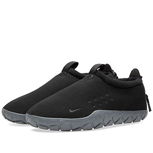 Nike Air Moc Tech Fleece, Chaussures de Sport Homme Noir (Black / Cool Grey)