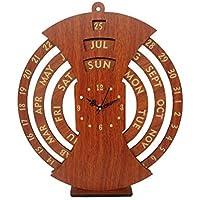 Wooden Calendar with Clock,Life time Calendar with Clock,Wooden Life time Calendar with Clock,Wooden Calendar,Calendar…