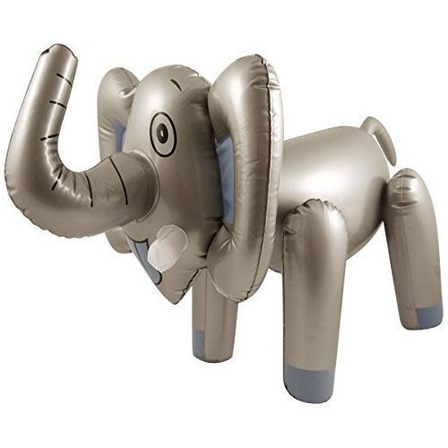 65CM INFLATABLE BLOW UP ELEPHANT ANIMAL TOY SAFARI NOVELTY by Henbrandt