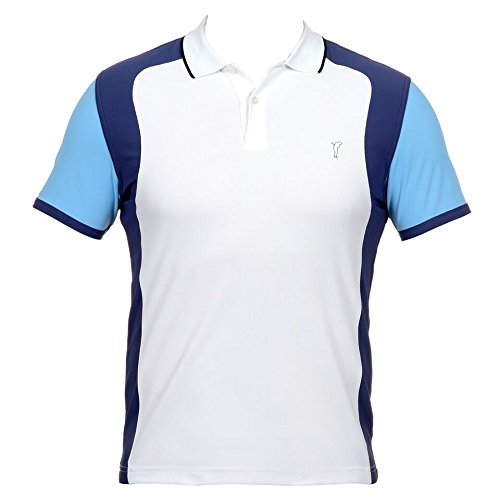 golfino-polo-golf-extra-dry-contraste-homme-optic-white-xl-blanc