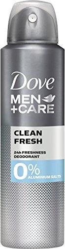 Dove MEN+CARE Deospray Clean Fresh ohne Aluminium, 150 ml