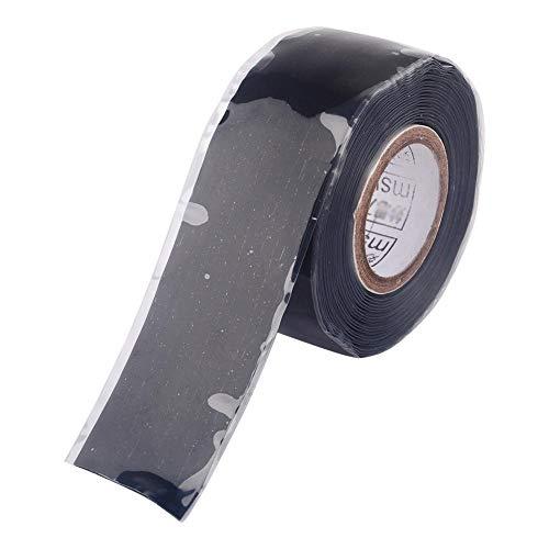 Selbstschmelzendes Silikonkautschuk Dichtungsband Wetterfestes Klebeband für elektrische Kabel Schlauchleitung Leckage Notfallreparaturen 25 mm * 3 Meter/Rolle