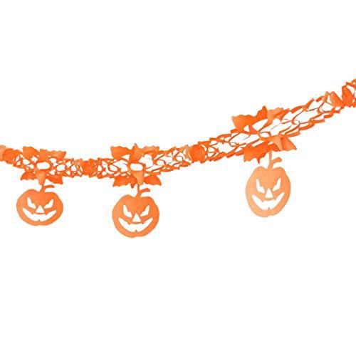 OverDose Damen Happy Halloween Party Clubbing Bar Home Flagge Haushalt Kinderzimmer Dekoration Terror Supplies Geschenke