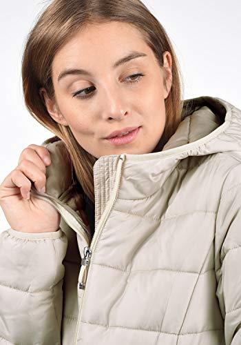 VERO MODA Palina Damen Steppmantel Übergangsjacke Jacke Mit Kapuze Und Stehkragen