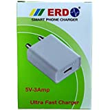 Premiium Quality ERD 3 AMP Ultra Fast Charging Dock For All Android Devices Comes With Cable