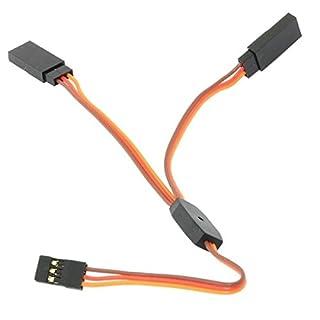 PhilMat Amass 15CM 30CM Y Servo Cable Lead Splitter For JR Spektrum HITEC