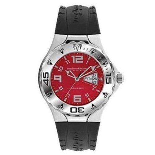 TechnoMarine TMD13 - Reloj analógico de cuarzo para hombre con correa de plástico, color negro