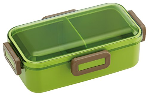 Forme de dôme Couvercle de 4 Lock Bento Lunch Box Vert mousse 530 ml
