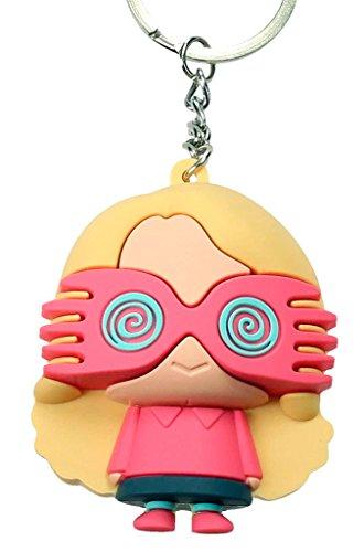 SD Toys- Llavero figurativo goma Luna Lovegood SDTWRN20455