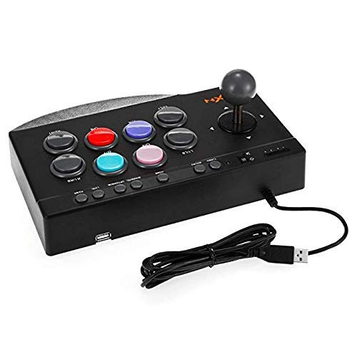 ROOCHL PXN Arcade Fight Stick USB Wired Fighting Joystick Game Controller für PS4 / PS3 / Xbox One/PC Kampfspiele (Ps3 Kampfspiele)