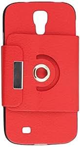 MyBat Premium Rotatable MyJacket Wallet for Samsung Galaxy S 4 - Retail Packaging - Red