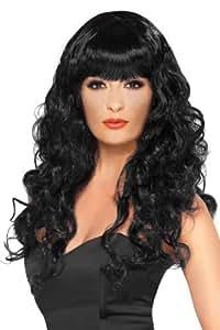 Smiffy's Siren Wig - Black