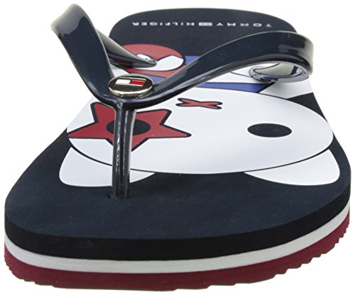 Tommy Hilfiger M1285ellie Mascot, Sandali a Punta Aperta Donna Blu (Midnight 403)