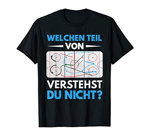 Eishockey T-Shirt | Unihockey Hockey Coach Sport Shirt