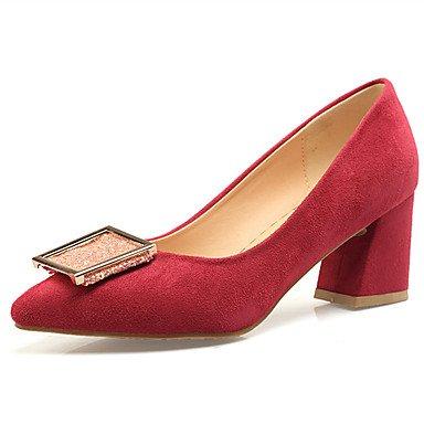 Zormey Chaussures Femmes Talon Chaussures À Enfiler Plus Pompe Couleur Disponible US7.5 / EU38 / UK5.5 / CN38