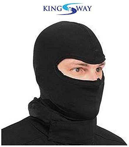 Kingsway kkmfmfullf00032 Balaclava (Black, Medium)