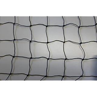 Volierennetz - Tiergehege - Netz - schwarz - Masche 5 cm - Stärke: 1,2 mm - Größe: 4,00 m x 5 m