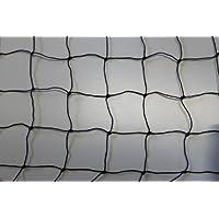 Katzennetz Katzenschutznetz - schwarz - Masche 5 cm - Stärke: 1,2 mm - Breite: 2,00 m Meterware
