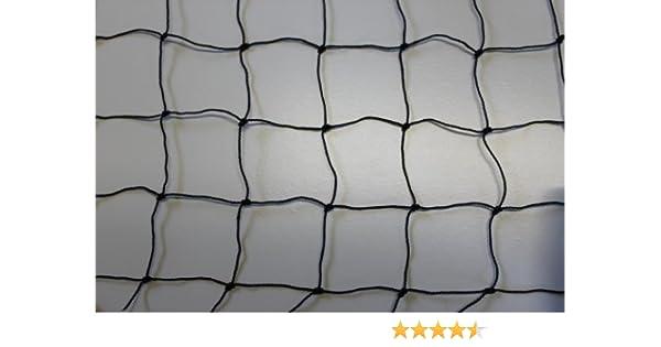Geflügelzaun Geflügelnetz Weidezaun  30 m x 1,35 m schwarz  Maschenweite 5 cm