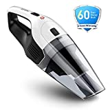 Holife 【2nd Gen】 Handheld Cordless Vacuum Cleaner, 14.8V 100W 6K Pa Strong Cyclonic