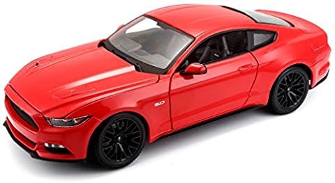 Maisto 531197 - 1:18 Ford Mustang '15 Spielzeug (color may vary)