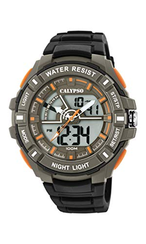 Calypso Watches Reloj Analógico-Digital para Hombre de Cuarzo con Correa en Plástico K5769/1
