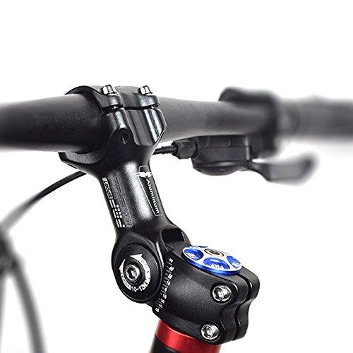Seasaleshop Fahrrad Lenkervorbau 31.8 Verstellbar Aluminiumlegierung MTB Fahrrad Vorbauten 110mm Sport im Freien Radfahren Zubehör by - Im Sport Freien