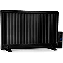 Oneconcept Wallander • Radiador de Aceite • Calefactor de Aceite • 800 W • Termostato Regulable • Pantalla LED • Delgado • Anticalentamiento • Programable ...