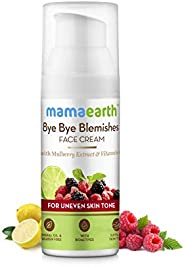 Mamaearth Bye Bye Blemishes Face Cream, For Pigmentation & Blemish Removal, With Mulberry Extract & Vi