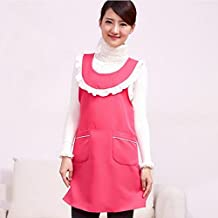 Modelos femeninos japoneses kawaii lindo delantales de tela vestido de la correa H uniforme vida en el hogar ( Color : # 2 )