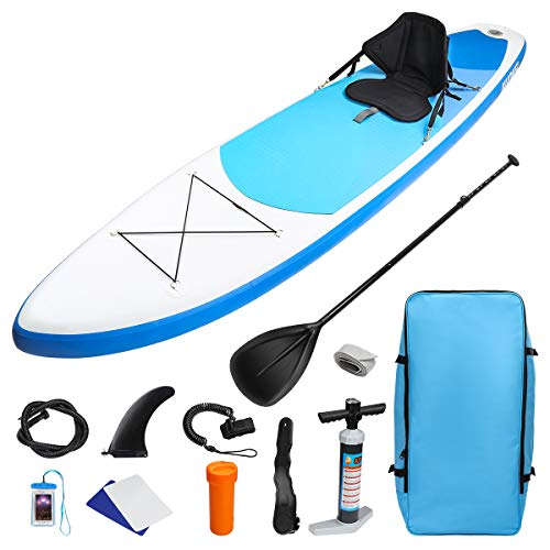 KUOKEL Stand Up Paddle Gonflable 320 * 76 * 15cm avec Pompe...