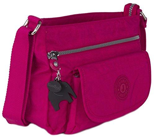 Big Handbag Shop - Borsa a tracolla donna Hot Pink