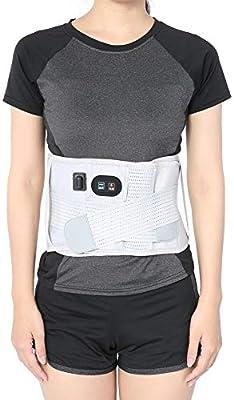 110-240v Manta Eléctrica Lumbar Almohadilla Eléctrica con 3 Niveles de Temperatura para Artritis en la Zona de la Espalda, Abdominal, Dolor, de la Terapia de Calor Wrap