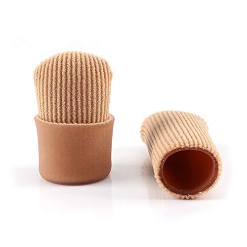 Daumenschützer Silikon Daumenhülsen Finger Toe Abdeckung Groß für Schmerzlinderung 1 Stücke (M) - Toe Silikon