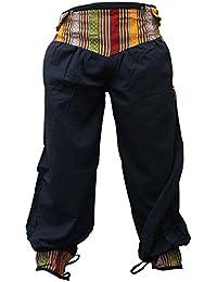 shopoholic Moda Uomo Donna Hippie PROFILATA Pantaloni FESTIVAL Boho Hippy  Pantaloni Casual rétro VESTITI 704845b05ce