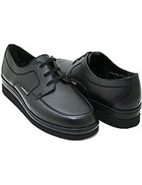 Mephisto - Zapatos de cordones de Piel para hombre negro negro 15