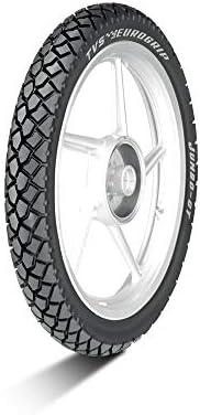TVS Eurogrip 3.00-17 50P 6PR TEG JUMBO Tube-Type Bike Tyre, Rear