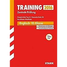 Training Zentrale Prüfung Hauptschule Typ A NRW - Englisch