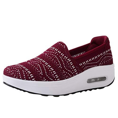 Zapatos de Trabajo Muy cómodos para Trabajos de hostelería y no resbalan-UniseZapatos Casuales Zapato...