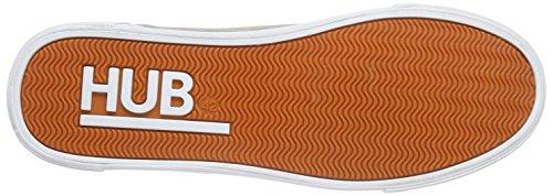 Hub Herren Timmer C06 Low-Top Beige (beige/wht 009)
