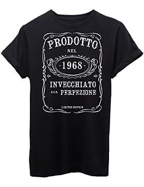 T-Shirt COMPLEANNO 1968 CERCA L'ANNO DI NASCITA BIRTHDAY - EVENTI - by iMage