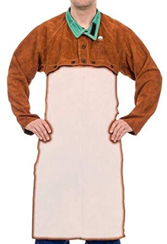Preisvergleich Produktbild Weldas Schweißerjacke Sigma LavaBrown Gr. XL für Schürze 44-7800XL Jacken Schweißerjacken Leder & Textil