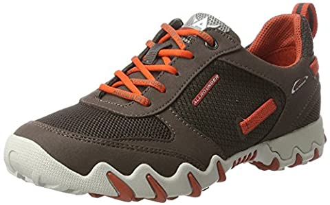 Allrounder by Mephisto Naina, Chaussures Multisport Outdoor Femme, Braun (Lavagna/Lavagna), 37.5 EU