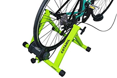 Kounga COTAMIL Rodillo de Ciclismo, Verde