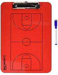 Softee 0004634 -  Carpeta táctica, color rojo, talla S